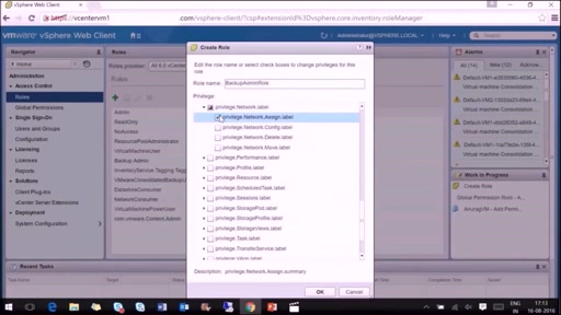 VMware VM Backup with Azure Backup Server: Part 2 of 4- Share VMware Account to Azure Backup Server