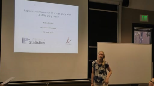 Approximate inference in R: A case study with GLMMs and glmmsr
