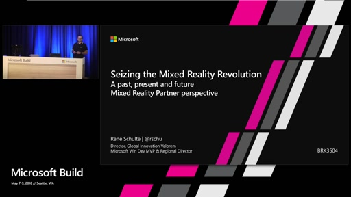 Seizing the Mixed Reality Revolution – A past, present and future Mixed Reality Partner perspective