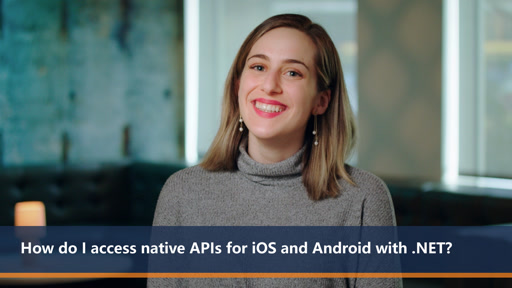 How do I access native APIs for iOS and Android with .NET? | One Dev Question