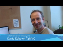 Jon Takes Five with David Ebbo on T4MVC