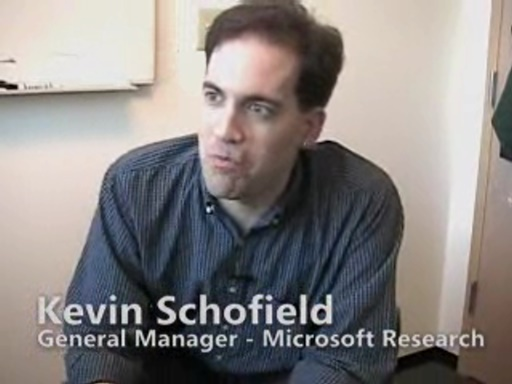 Kevin Schofield - Inside Microsoft Research