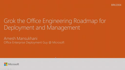 Grok the Office engineering roadmap for deployment and management