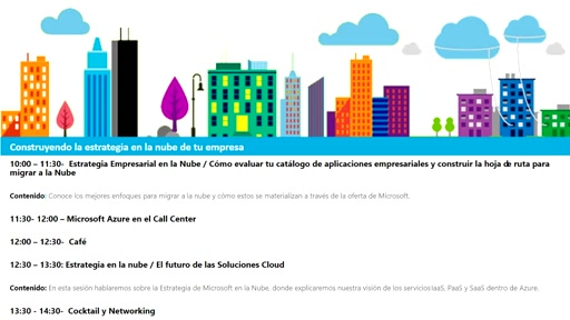 Construyendo la Estrategia en la Nube de tu Empresa - PARTE 3