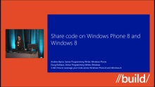 How to Leverage your Code across WP8 and Windows 8