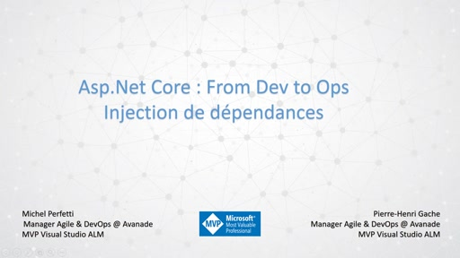 ASP.Net Core: From Dev to Ops - Injection de dépendances