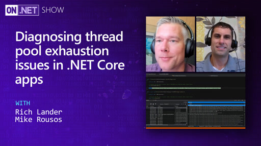 Diagnosing thread pool exhaustion issues in .NET Core apps