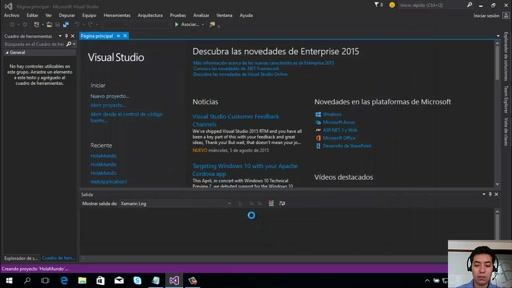Introducción a Visual Studio 2015