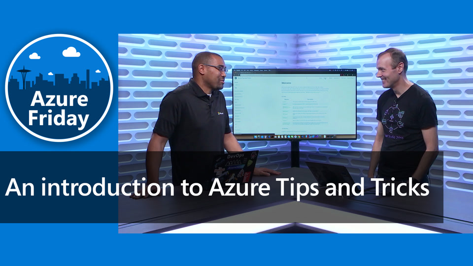 An introduction to Azure Tips and Tricks