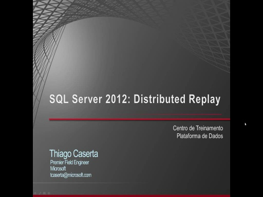 SQL Server 2012 - Distributed Replay