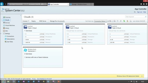 Tutorial - Hybrid Cloud mit System Center 2012 - Teil 3/3 Deployment-Methoden & Beispiele