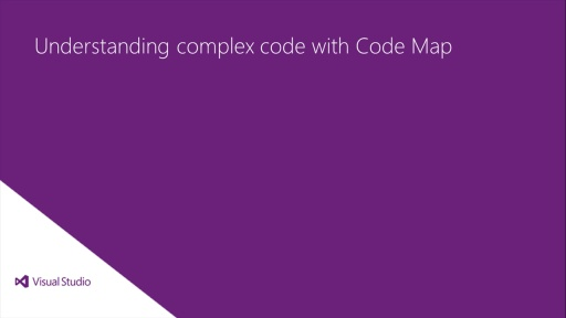 Understanding complex code with Code Map