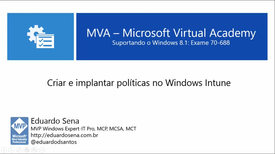 Criando e implantando politicas no Windows Intune