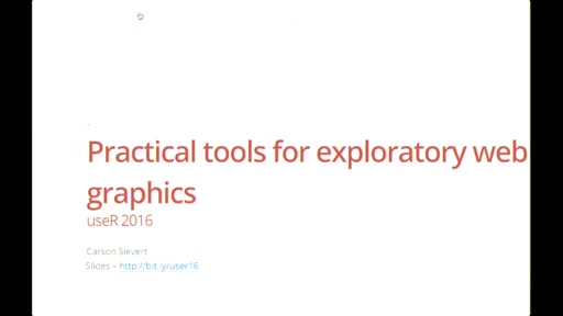 Practical tools for exploratory web graphics