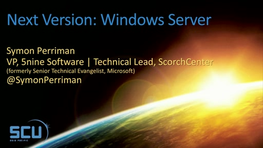 Next Version: Windows Server