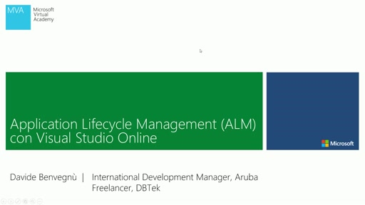 Application Lifecycle Management (ALM) con Visual Studio Online - Video 4