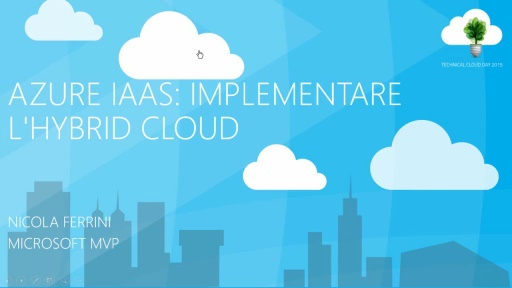 Azure IaaS: Implementare l'Hybrid Cloud