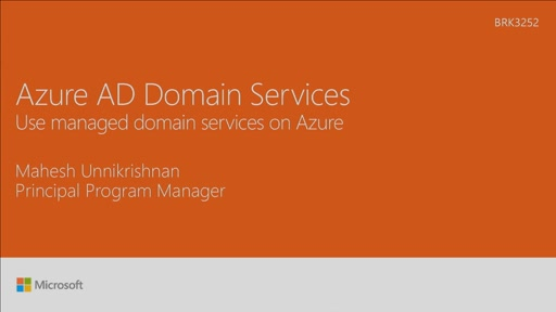Use managed domain services on Microsoft Azure