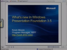 VS2008 Training Kit: What's New in Windows Presentation Foundation 3.5