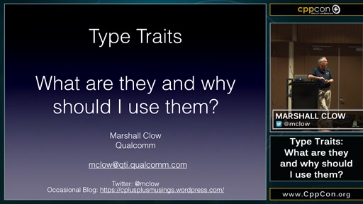 Type Traits: What are they and why should I use them?