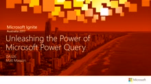 Unleashing the Power of Microsoft Power Query