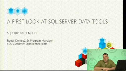 Demo: A First Look at SQL Server Data Tools