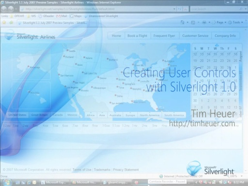 Silverlight: Implementing User Controls in 1.0
