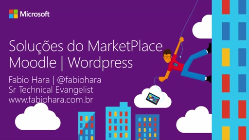 Implantando Moodle e WordPress no Microsoft Azure - Fast Start