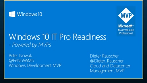 Windows 10 IT Pro Readiness [Germany]