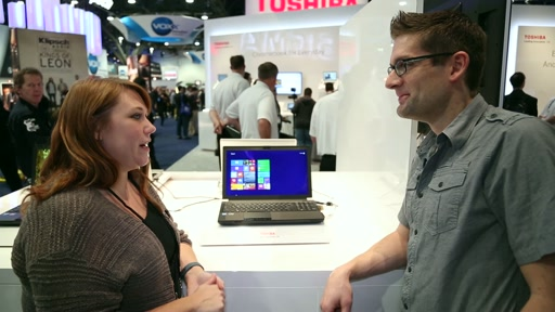 CES 2014: Toshiba 4K Laptops Hands-On