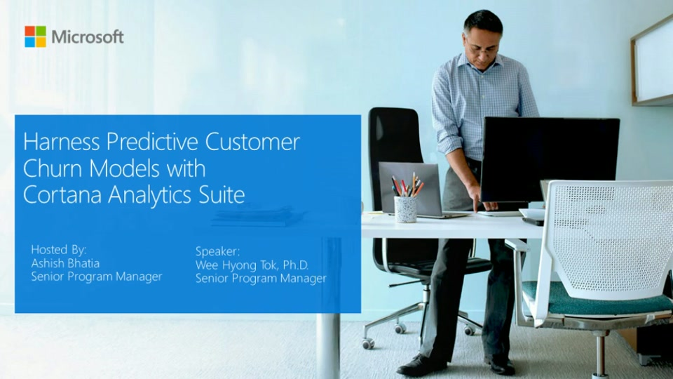 Harness Predictive Customer Churn Models with Cortana Analytics Suite