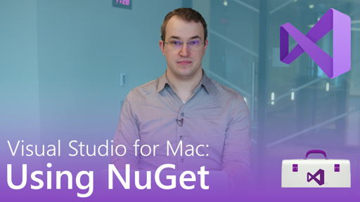 Visual Studio for Mac: Using NuGet