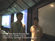 A Chat (and demo) with Ken Schaefer about IIS7
