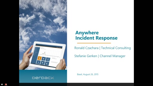 Derdack: Effectively manage and resolve major IT incidents from anywhere. A 24/7 solution in the palm of your hand.