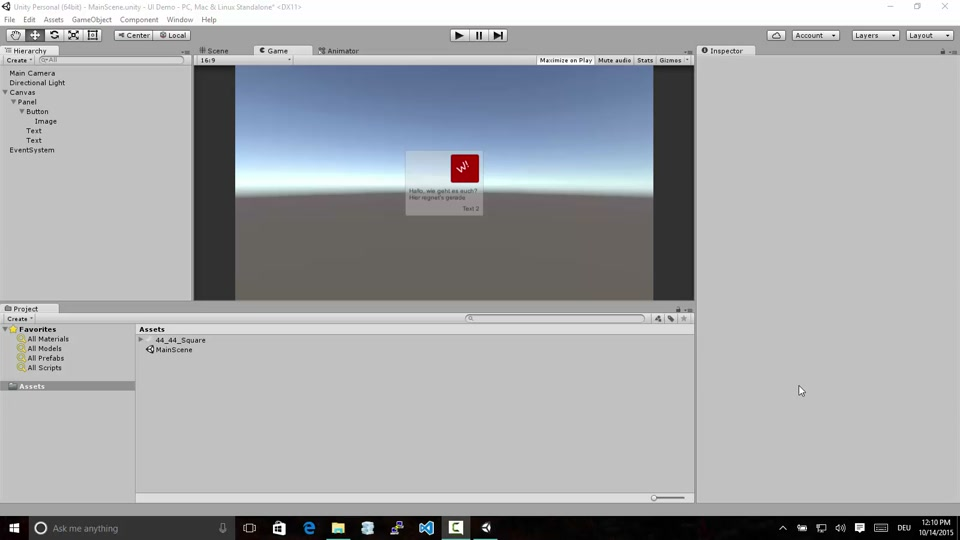 Useful tipps and tricks for working with the Unity UI system across  platforms