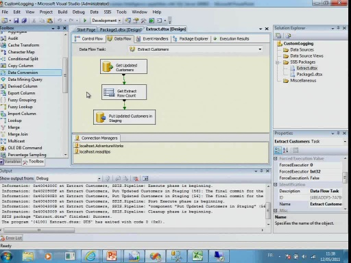 Building Business Itelligence capabilities with SQL Server 2008R2