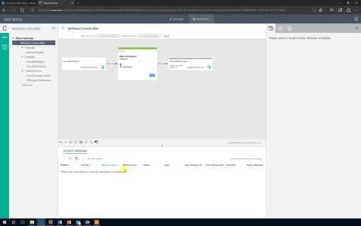 Operationalizing Solutions with Azure Data Factory - Session 3 - Basic ADF Demo