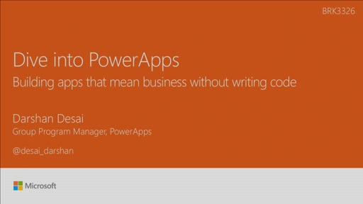 Dive into PowerApps, building apps that mean business without writing code