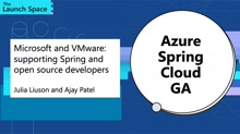 Microsoft and VMware: Supporting Spring and Open Source Developers