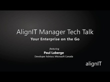 AlignIT Manager Tech Talk: Your Enterprise On the Go