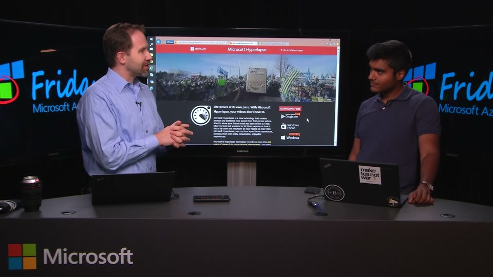 Microsoft Hyperlapse in Azure Media Services with Adarsh Solanki