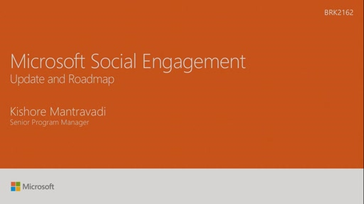 Visualize the future of Microsoft Social Engagement