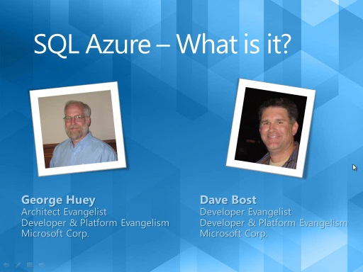 SQL Azure Migration Wizard (Part 1): SQL Azure - What is it?