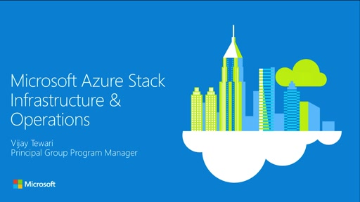 Microsoft Azure Stack: What's new with infrastructure and operations?