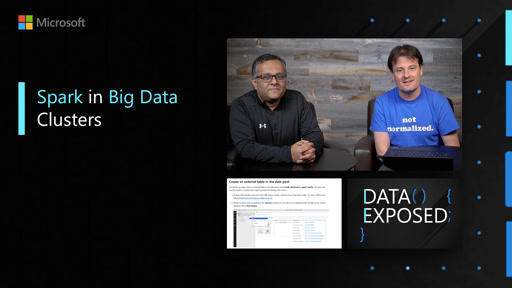 Spark in Big Data Clusters | Data Exposed