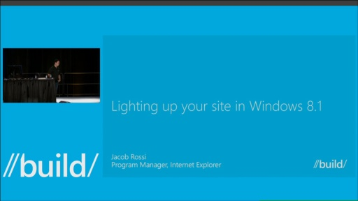 Lighting Up Your Site on Windows 8.1