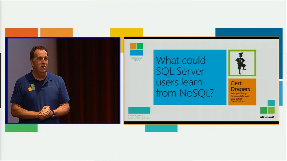What could SQL Server users learn from NoSQL