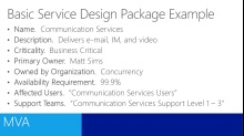 (Module 3) ITIL for IT Professionals - Service Design
