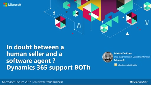 Are you in doubt between a human seller and a software agent? Dynamics 365 supports BOTh - Teatro Engage your customer