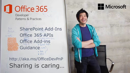 PnP Web Cast - Azure AD for Office 365 developer